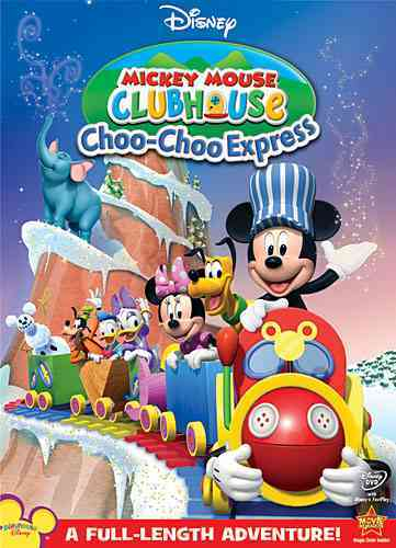 MICKEY MOUSE CLUBHOUSE:MICKEY'S CHOO BY MICKEY MOUSE CLUBHOU (DVD)